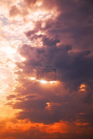 Photo for Red sky at sunset - Royalty Free Image