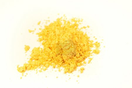 Mineral gold pigment