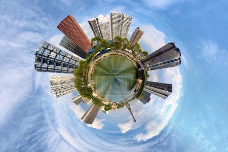 Photo pour La surpopulation dans la grande ville - une vision de l'humour . - image libre de droit