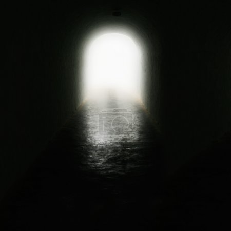 Photo for Light at the end of the tunnel. - Royalty Free Image