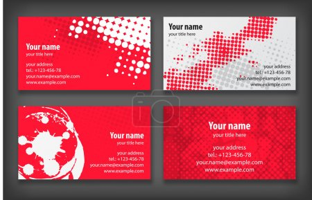 Illustration for Business cards template - Royalty Free Image