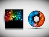 CD Cover Design Template - Party Vector Illustration