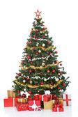 Vánoční strom s dárkové krabičky