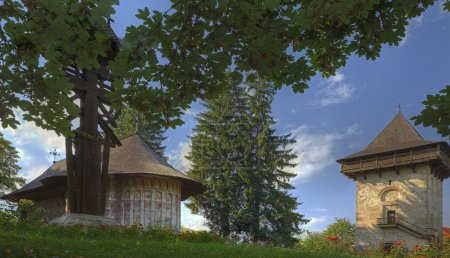 Gura Humorului Monastery,Moldavia,Romania