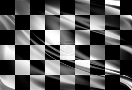 Photo for Checkered racing flag - Royalty Free Image