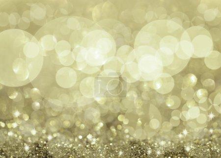 Photo pour Feux argentés scintillants et étoiles fond de Noël - image libre de droit