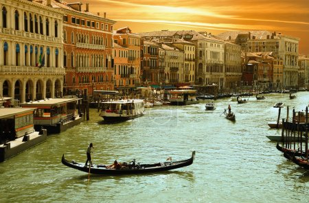 Photo pour Venise-grand canal - image libre de droit