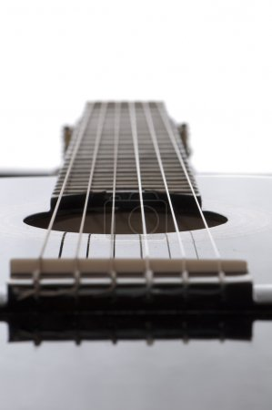 Photo for Black guitar and details - Royalty Free Image