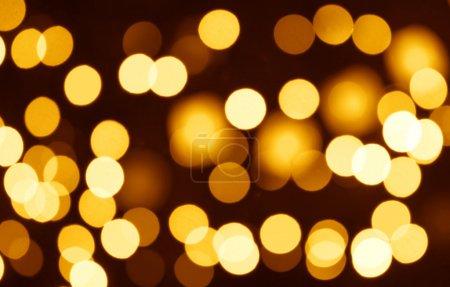 Photo pour Christmas bokeh - motif abstrait horizontal pour votre projet - image libre de droit