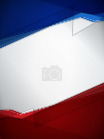 Red and Blue Modern Background