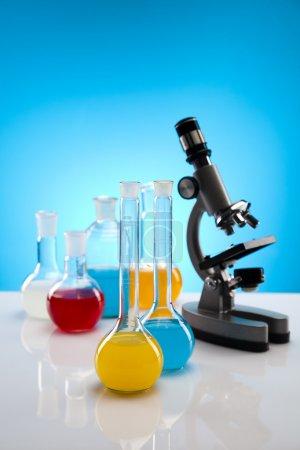 Foto de Laboratorio químico . - Imagen libre de derechos