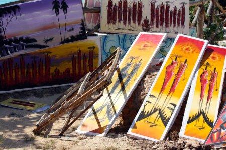 Zanzibar, Nungwi: African art