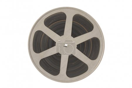 Film reel isolated.