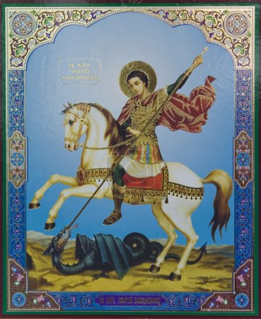 Icon of st. george