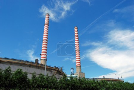A thermal power station is a power plant in which ...