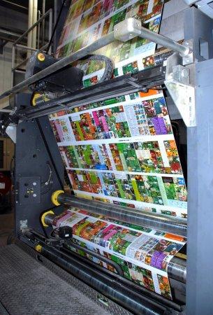 Web (rolls) offset press