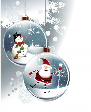 Funny Christmas balls