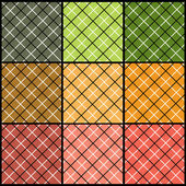 Nine Colorful Abstract Pattern Backgrounds