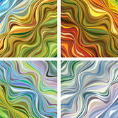 Abstract textures with wavy lines