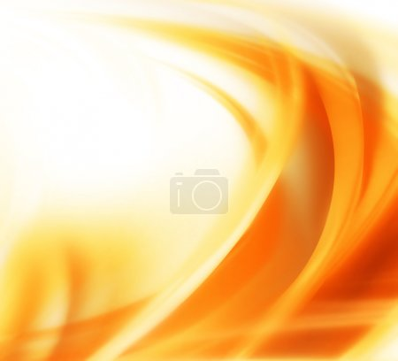 Photo for Elegant abstract autumn background with smooth lines - Royalty Free Image