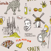 Spain background Pattern