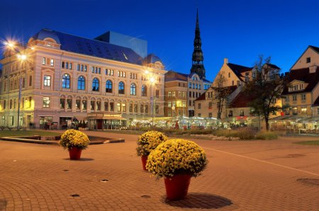 The Livu square.
