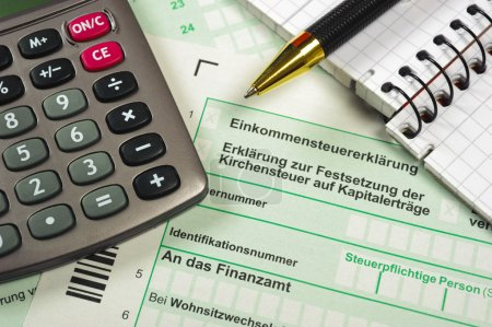 German tax form