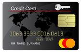 Černá kreditní karta