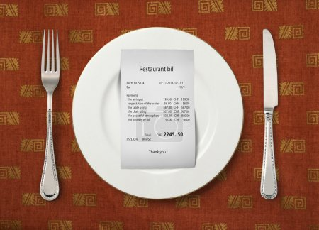 The price at restaurant