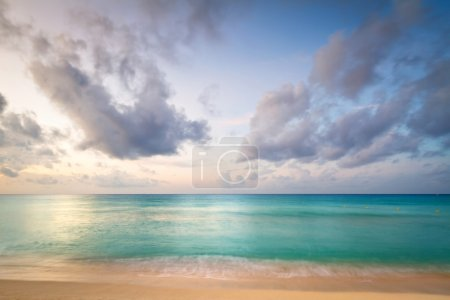 Idyllic beach of Caribbean Sea