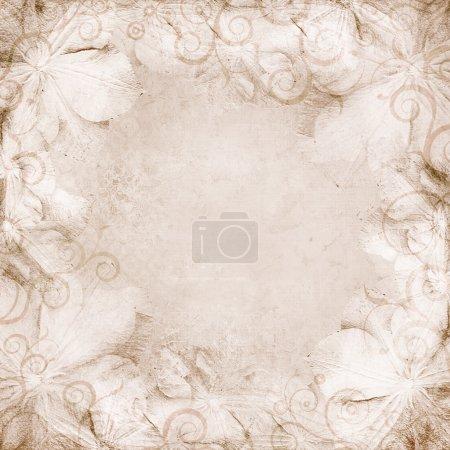 fond beige mariage grunge