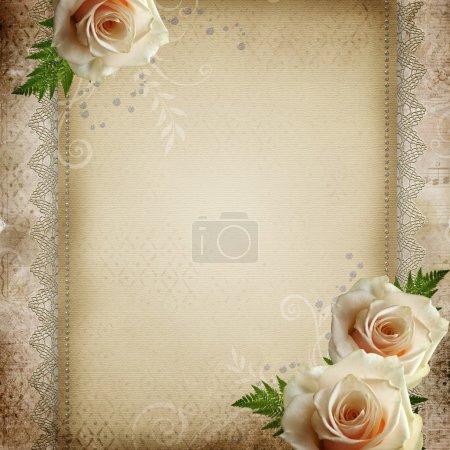 fond mariage magnifique Vintage