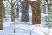 Traum-Winterwald