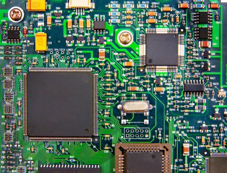 Photo for The image of electronic circuit board - Royalty Free Image