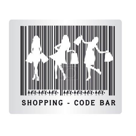 Code bar shopping