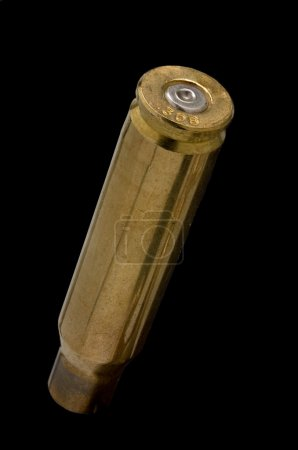 Used .308 shell casing