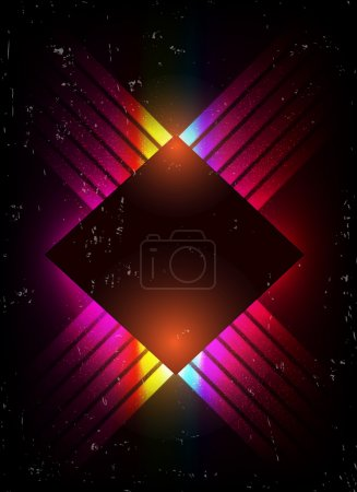 Illustration for Vector shiny background - Royalty Free Image