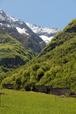 Ticino mountain village