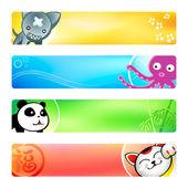 Anime banners | Set 2