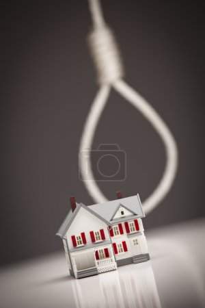 House with Hangman's Noose in Background