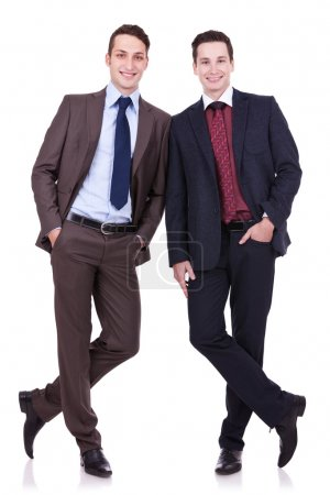Two business friends