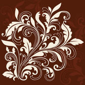 Ornamental Flourishes and Vines Swirly Silhouette Vector Illustration Design Elements