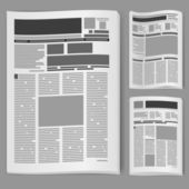 Set number two newspaper