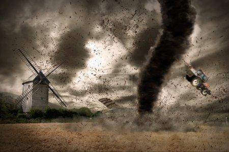 Tornado global warming