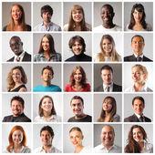 "Постер, картина, фотообои ""different smiling people"""