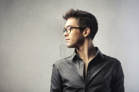 Photo for Portrait of a handsome elegant young man - Royalty Free Image