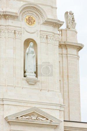Detail of Sanctuary of Our Lady of Fatima, Fatima, Estremadura,
