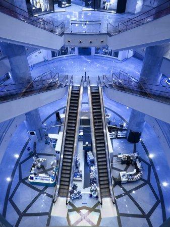 Beautiful escalator