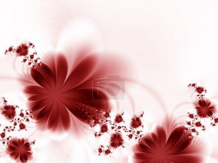 Photo pour Guirlande de fleurs - image libre de droit