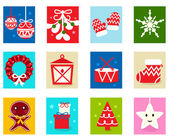 Christmas Advent Calendar elements 1